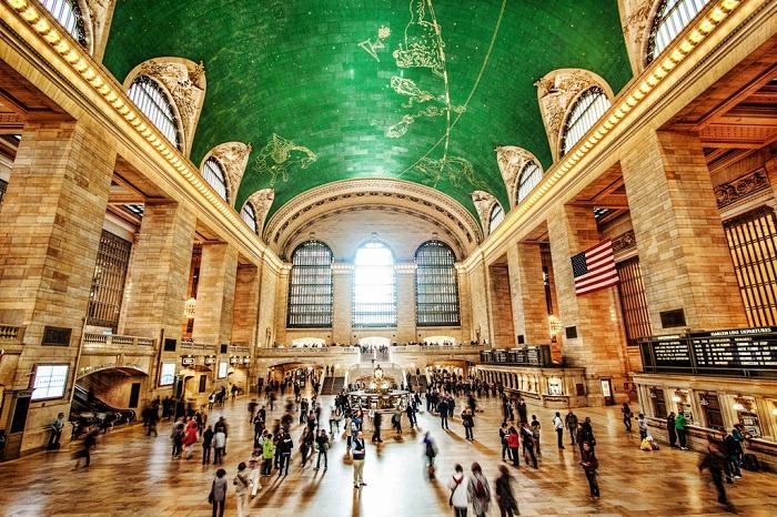 Вокзал Нью-Йорка – излюбленное место киносъемок.