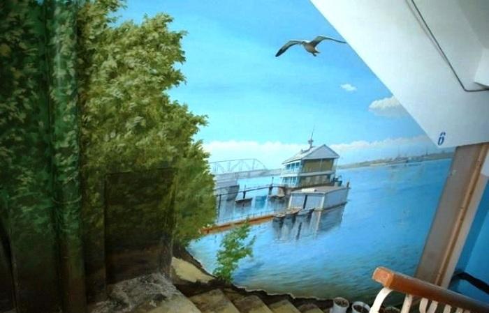 Буйная зелень прибрежной морской зоны и лазурная гладь бухты навевают воспоминания о лете. | Фото: interesnovsem.info.