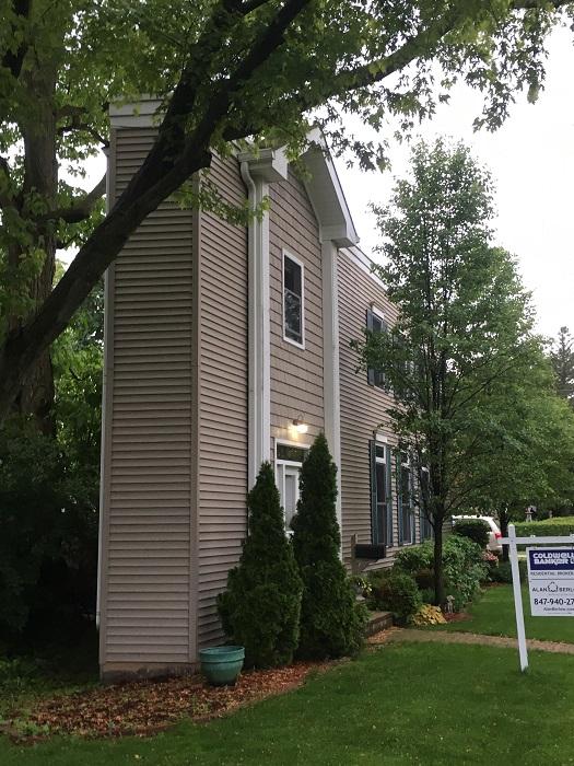 Сложно даже представить, что внутри подобного сооружения сможет жить целая семья («Pie house», Дирфилд). | Фото: myconfinedspace.com.