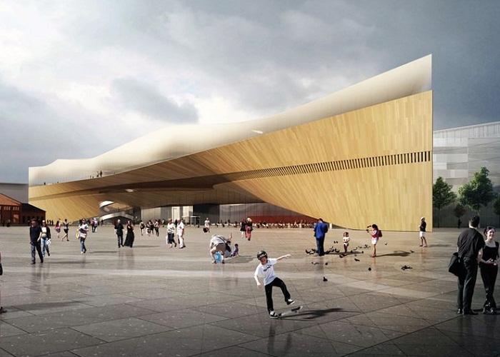 В Хельсинки открылась мегасовременная библиотека Oodi (Финляндия). | Фото: yle.fi.