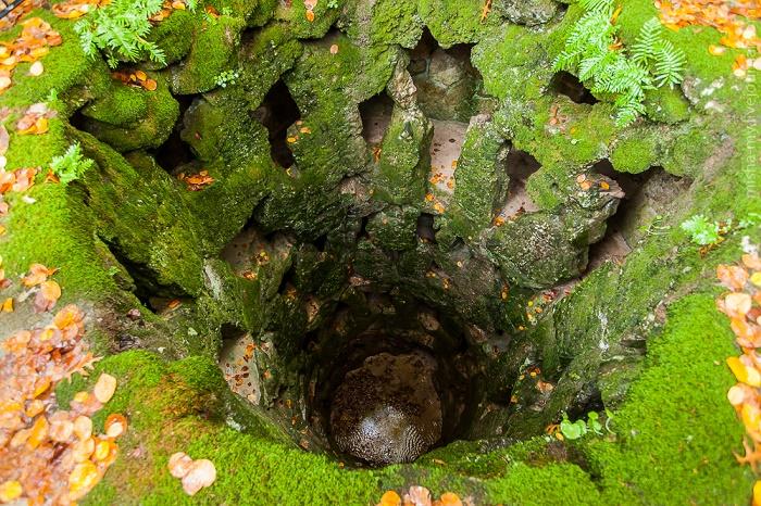 На территории дворцово-паркового комплекса обнаружен еще один колодец (Quinta da Regaleira, Португалия). | Фото: ru-travel.livejournal.com.
