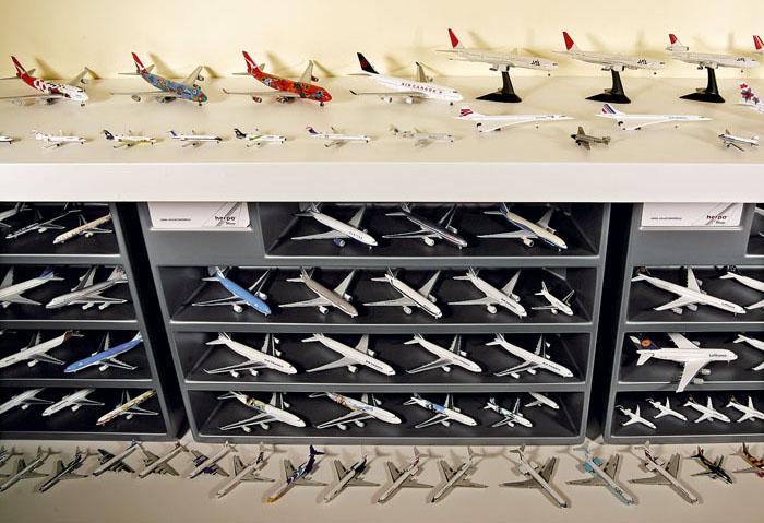Коллекция самолетов.
