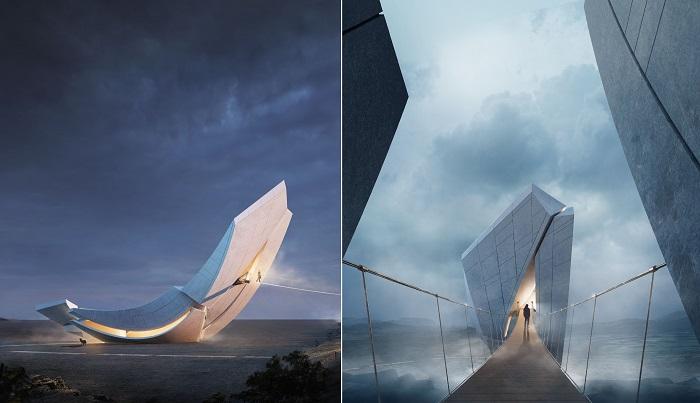 Амбициозный проект от китайских архитекторов дизайн-студии 00Group (Anchor of the Plates).