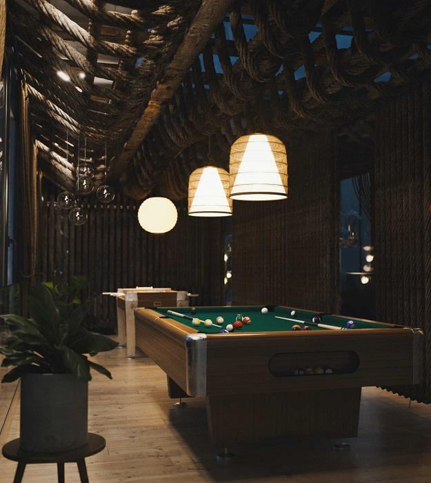 На третьем уровне обустроены зоны для занятия спортом и для активного отдыха (концепт Mountain House). | Фото: mymodernmet.com.