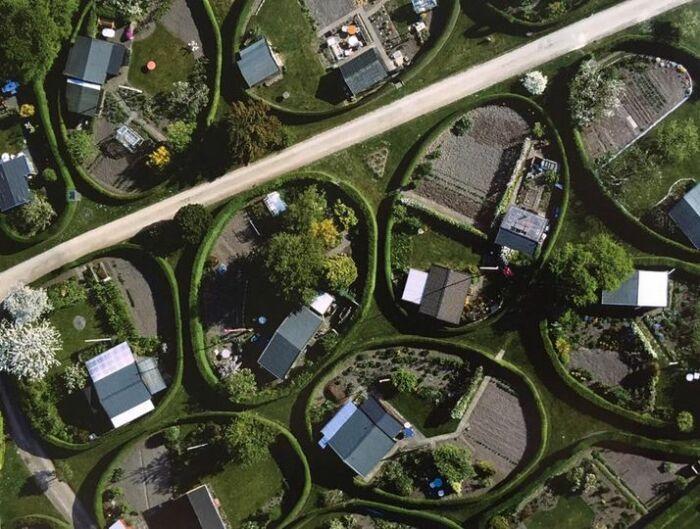 Пригородный район Нерум стал достопримечательностью Копенгагена (Дания).