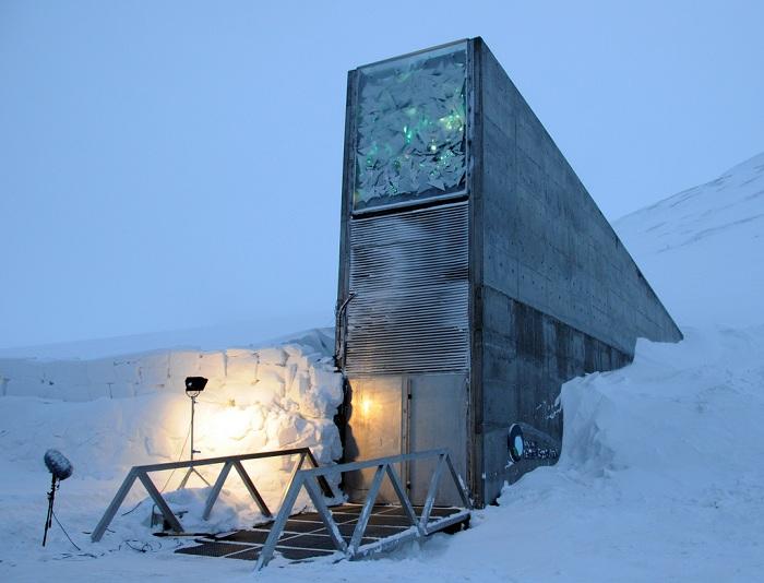 Всемирное семенохранилище на архипелаге Шпицберген.