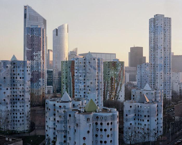 О таком «величии» архитектуры Парижа мало кто догадывается. | Фото: Laurent Kronental/ zagge.ru.