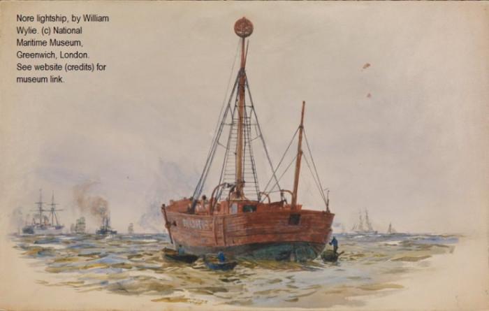 Так выглядели морские маяки в XIX в. (Peterloo 1819-1820 гг.). | Фото: interestingengineering.com.