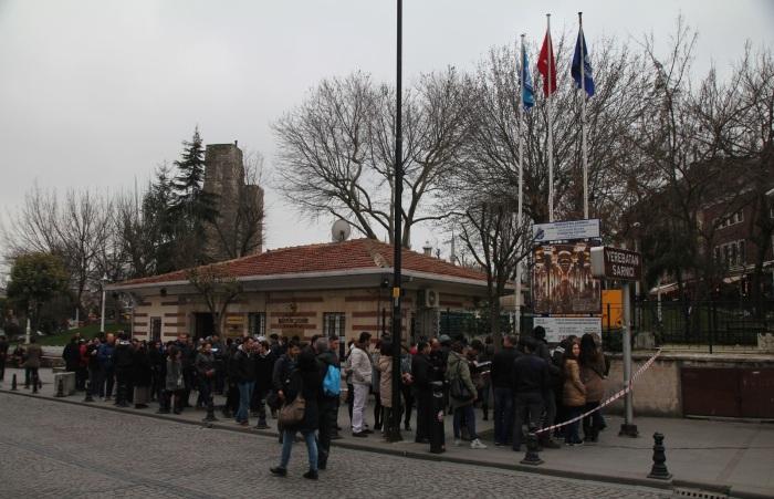 В 1987 г. после длительной очистки и реставрации Цистерна Базилика была открыта как музей (Стамбул). | Фото: stroi.mos.ru.