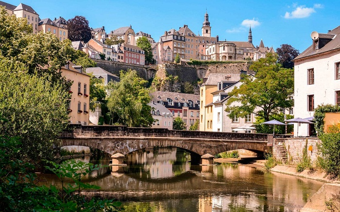 Красота старинных улочек Люксембурга, которую стараются сохранить власти страны. | Фото: tpg.ua.