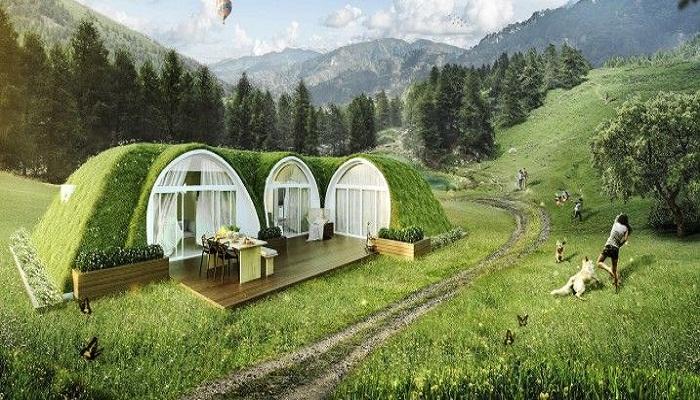 Такая дача или загородный дом – самое лучшее решение.