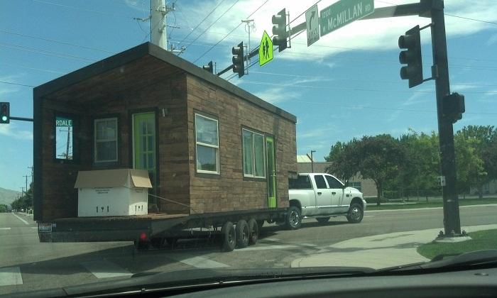 Дом Мейси можно перевезти и установить в любом месте.