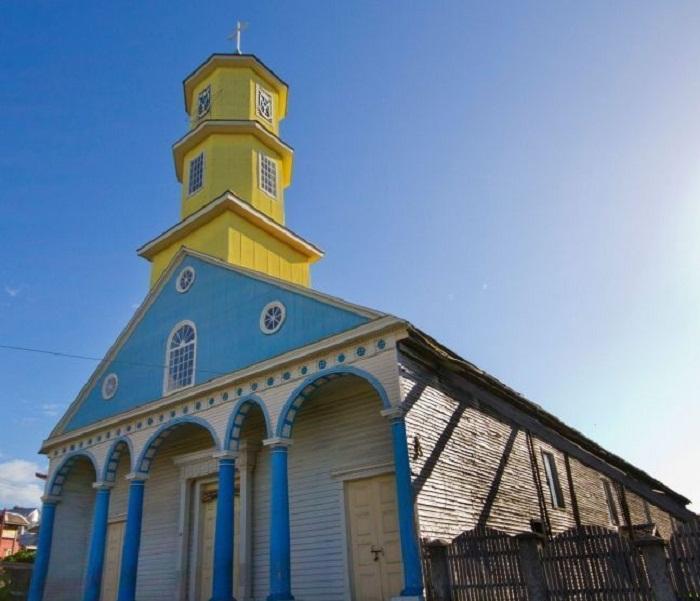 Церковь Na Sra Rosario (Остров Чилоэ).