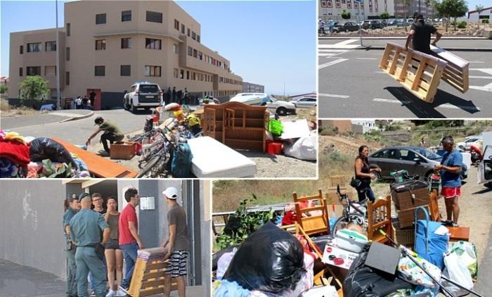 К счастью, для владельцев недвижимости в Испании, захватчиков начали выселять. | Фото: cronistasoficiales.com.