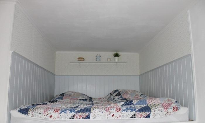 Вот такое спальное место оформила Анна в своей квартире. | Фото: sdelaisam.mirtesen.ru.