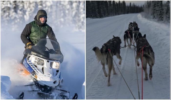 Устроители отеля предлагают массу развлекательных мероприятий для любителей активного отдыха (Borealis Basecamp, Аляска).