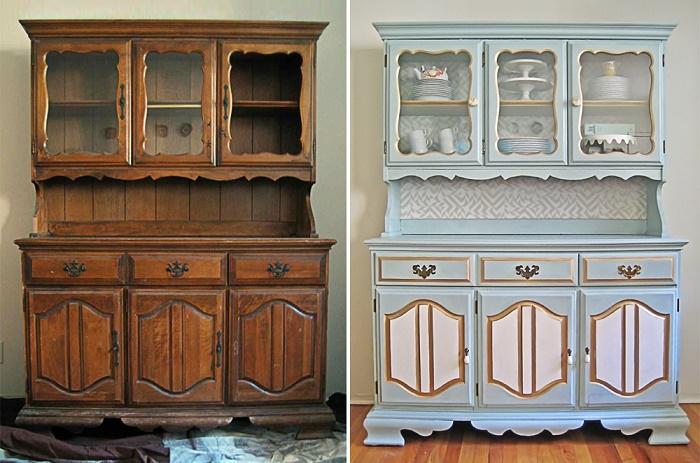 Старинная мебель достойна того, чтобы занять место в обновленном интерьере, но после реставрации. | Фото: pausadocafe.com.