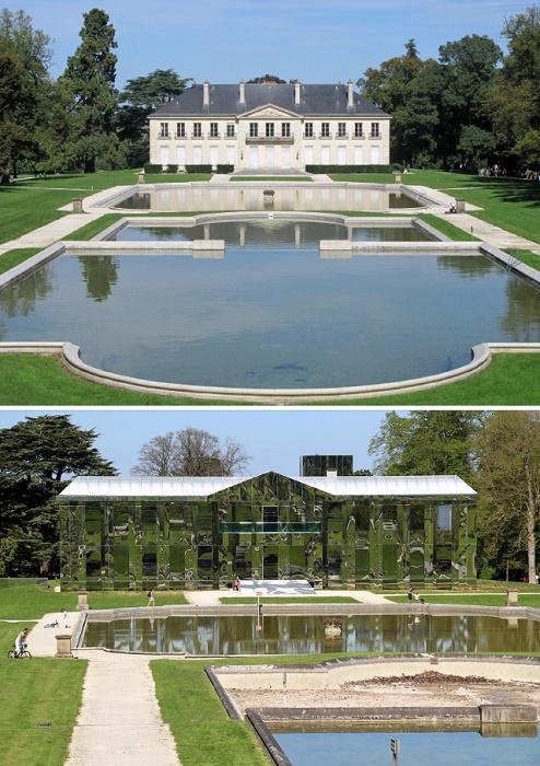 Некогда королевская летняя резиденция в парке Рентийи превратилась в чудовищную пародию. | Фото: awesomeinventions.com.