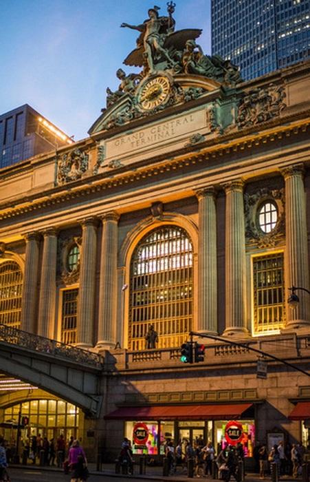 Самый узнаваемый вокзал Америки (Нью-Йорк).