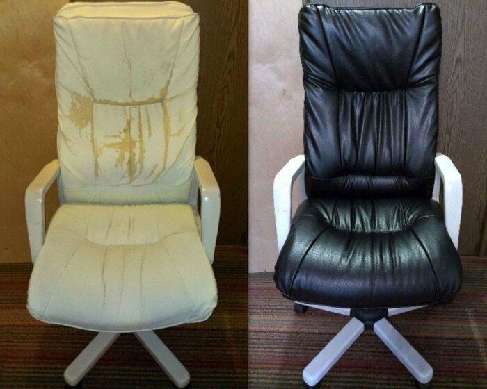 Имея элементарные навыки можно преобразовать потрепанное кресло даже так. | Фото: roomester.ru.