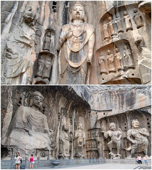 Скульптуры гротов Лунмэнь – выдающиеся достижения художественного творчества человечества.