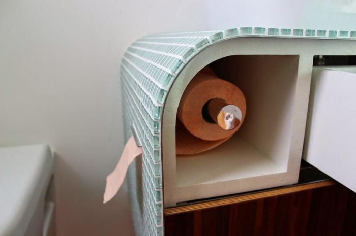 Идеальное место для скрытого хранения туалетной бумаги. | Фото: cabinet-s-top.blogspot.com.