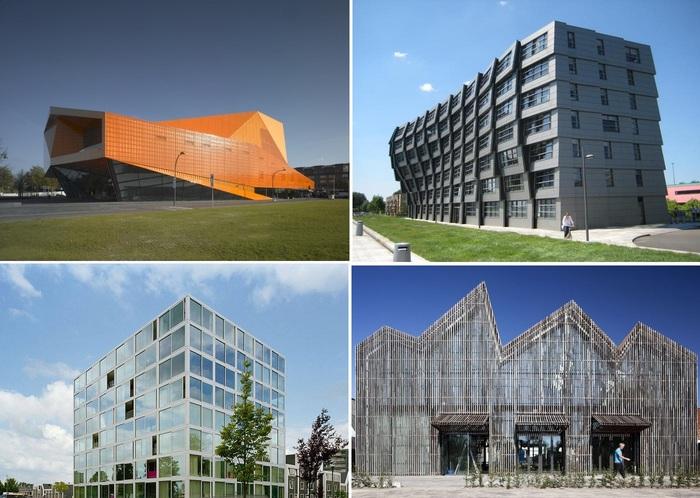 Современная архитектура Нидерландов. | Фото: thearchitect.pro.