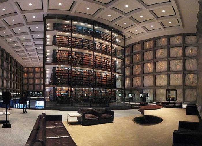 Выставочные залы библиотеки Луи Нюсера в Ницце (Франция)