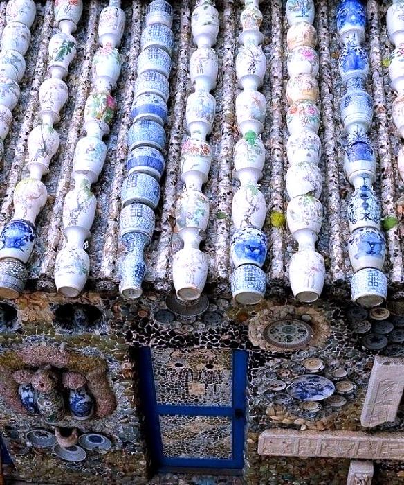 Единственная крыша в мире, созданная из древних фарфоровых ваз (China Porcelain House).
