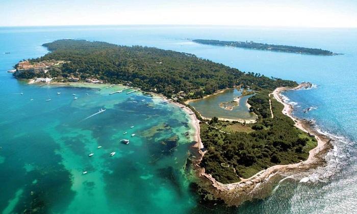 Экология и чистота на острове Поркерольи в приоритете.