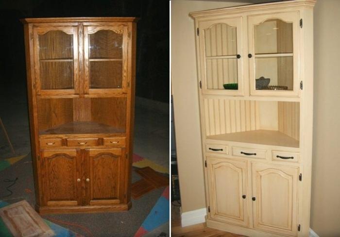 Если качественная деревянная мебель потеряла привлекательный вид, с помощью краски или лака ее можно облагородить. | Фото: postroika.biz.