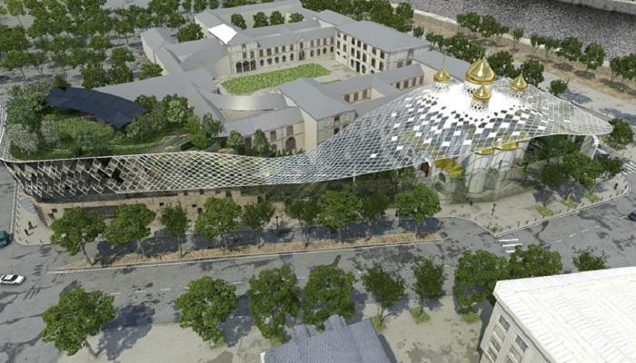 Грандиозность масштабного строительства не понравилась церковной верхушке и французам. | Фото: gazeta.ru.