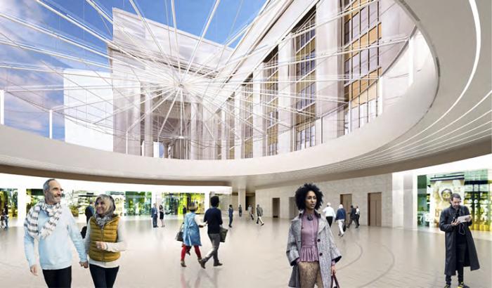Создаются новые станции метро (District 2020).