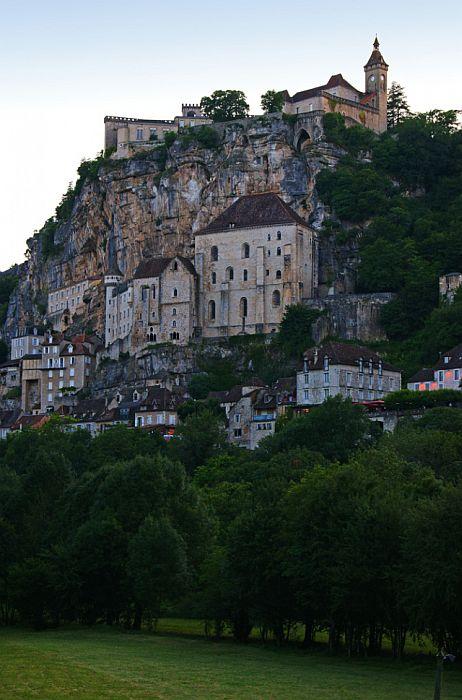 Очень необычная деревня Европы (Рокамадур, Франция).