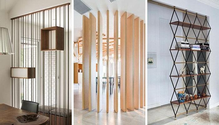 Изменить планировку квартиры без капитального ремонта поможет функциональная ширма-перегородка. | Фото: cpykami.ru.