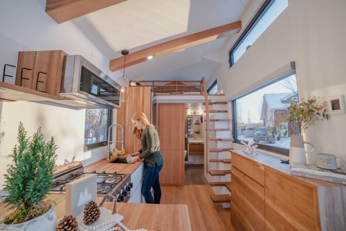 Полноценная кухня вдохновит на кулинарные эксперименты. | Фото: newatlas.com.
