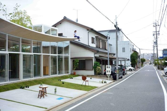 Офис «Sannouno» находится в Okazaki City (Япония). | Фото: mymodernmet.com.