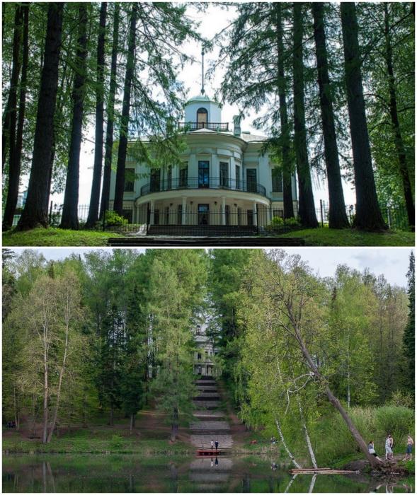 В Середниково удастся приятно провести время, особенно в знойные дни (Подмосковье).