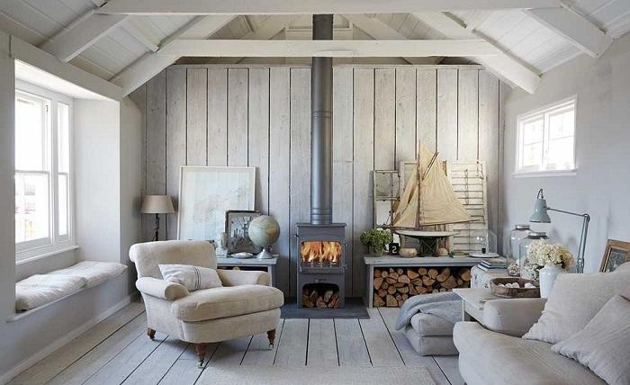 Натуральность и минимализм — главное в оформлении интерьера скандинавских стран.