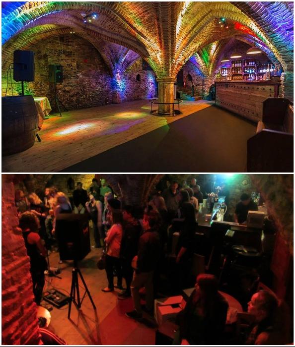 Средневековый склеп трансформировали в подземную музыкальную площадку (Норвич, Великобритания).
