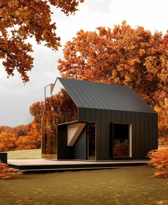 Природная энергия и натуральные материалы для комфорта и уединенного отдыха (концепт Sol House). | Фото: siaarchitecture.fr.