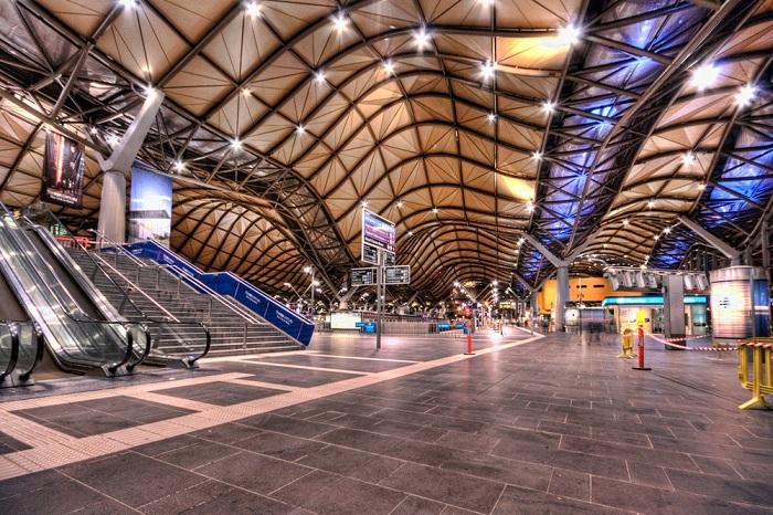 Вокзал оснащен самыми современными системами.