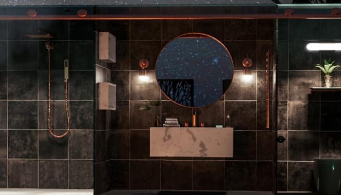 Благоустроенная ванная комната порадует даже самых привередливых постояльцев (концепт Nomad's Pad).   Фото: mymodernmet.com.
