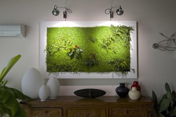 Фитопанно станет живописным украшением вашего интерьера.