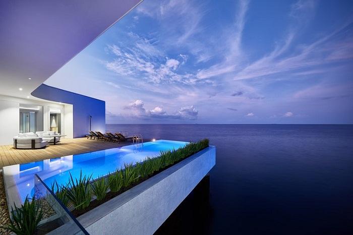 На Мальдивах появились восхитительные подводные люкс-апартаменты.