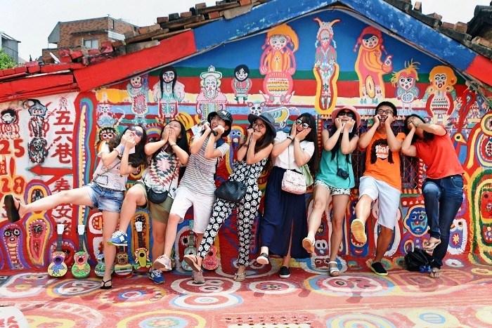 Самая добродушная достопримечательность Тайчжуня (Rainbow Village, Тайвань).