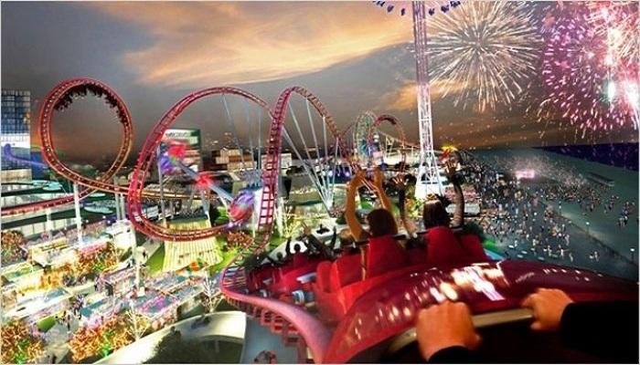Здесь удастся пощекотать нервы и получить сумасшедшую дозу адреналина каждому (Парк Ferrari World, Абу-Даби). | Фото: wiki-turizm.ru.