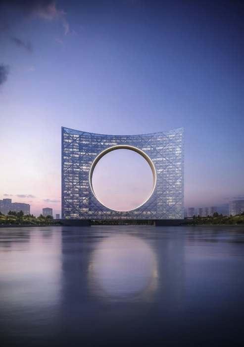 Общая площадь уникального комплекса «Tower of the Sun» составит около 75 тыс. кв. м (Нур-Султан, Казахстан). | Фото: newatlas.com.