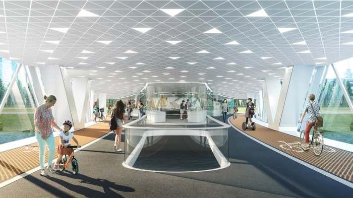 «Башня Солнца» будет включать жилые, офисные, спортивные, гостиничные и коммерческие площади (Нур-Султан, Казахстан). | Фото: newatlas.com.
