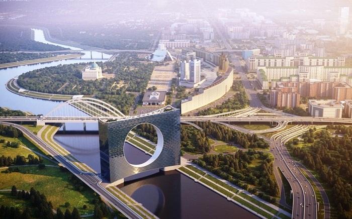 «Башня Солнца» - потрясающая концепция моста норвежской компании Fundamental Architects (Нур-Султан, Казахстан). | Фото: fainaidea.com.